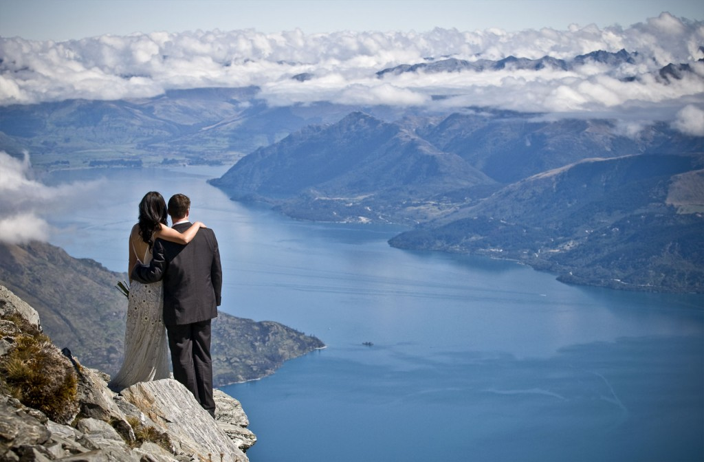 Stunning Queenstown Wedding