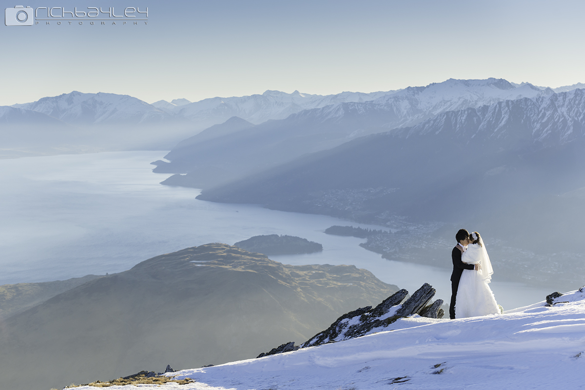 Queenstown Heli-Wedding